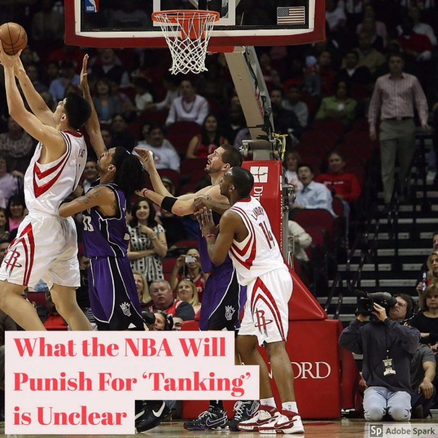 The Subject of Tanking in the NBA and the Punishment is Unclear