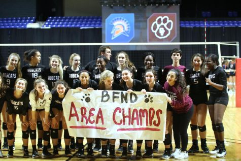 Cy-Fair Volleyball Sweeps Seven Lakes, Looks Ahead for a Round 3 Victory