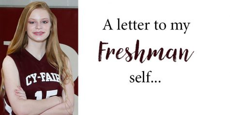 Letter to my Freshman self